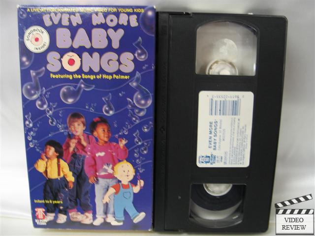 Baby songs even more baby songs vhs s 2 jpg