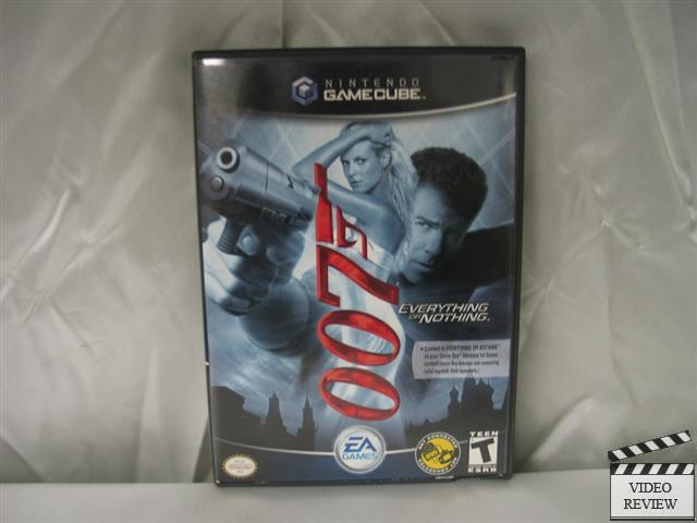 007 everything or nothing cheat game cube: