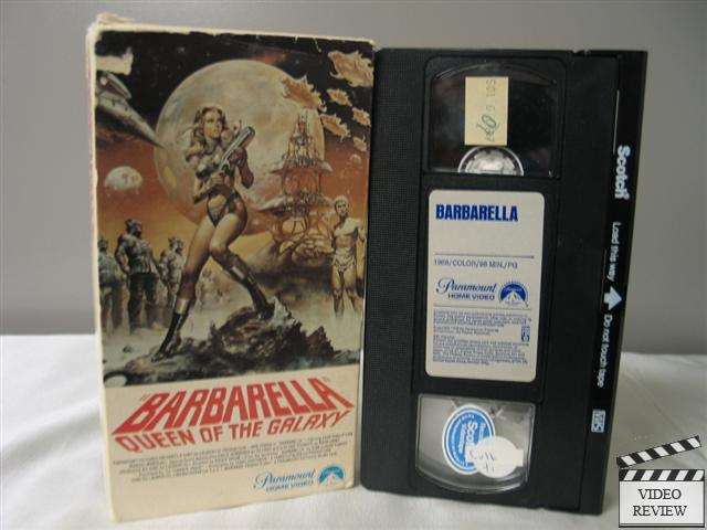 Barbarella Vhs Jane Fonda John Phillip Law Marcel