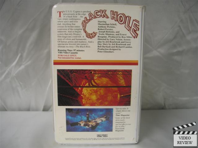 The Black Hole VHS - Pics about space