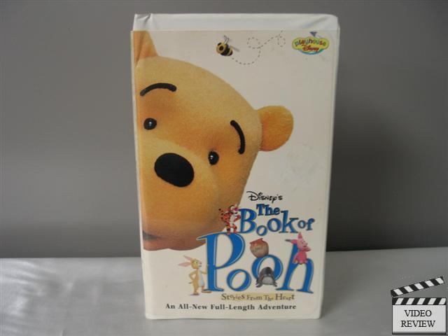 The Book Of Pooh Stories From The Heart Vhs 2001