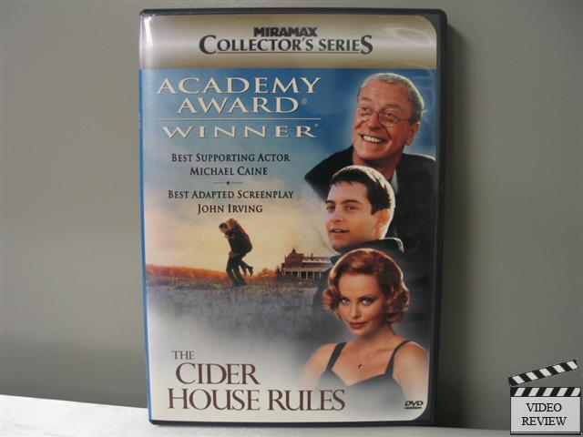 cider house rules review Cider house rules is leavened and balanced by humor, but bring along the kleenex: irving constructs his morality-play situations with fate in control of the hands dealt to people who most and least deserve to die do, and the rest of us -- sadder but wiser survivors -- left to ponder their good and bad examples.