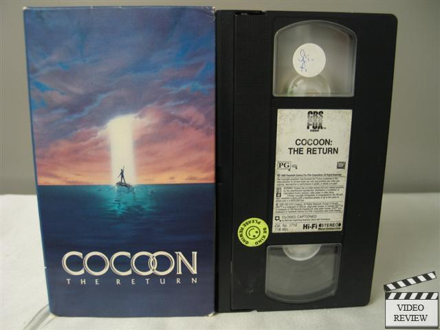 Cocoon The Return Vhs Wilford Brimley Courteney Cox