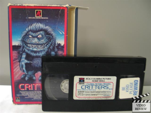 Critters Vhs 1986 Dee Wallace Stone M Emmet Walsh
