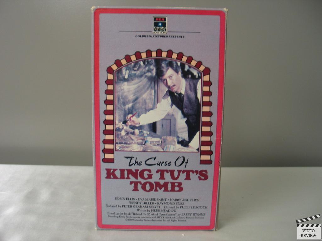 The Curse Of King Tut's Tomb VHS Robin Ellis, Eva Marie