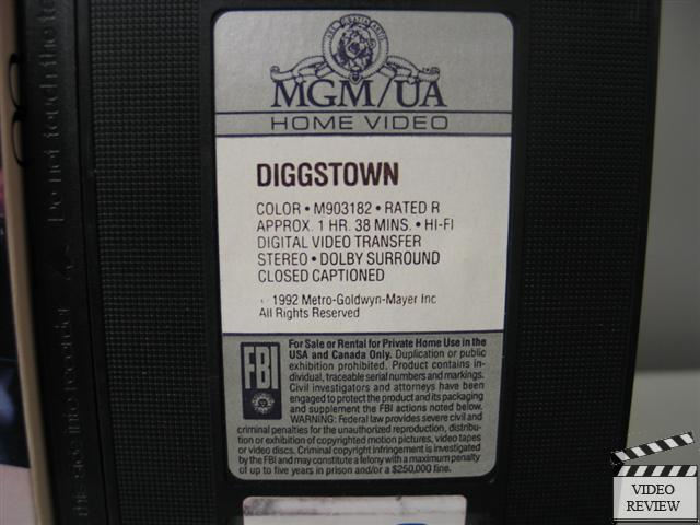 Diggstown VHS James Wo...