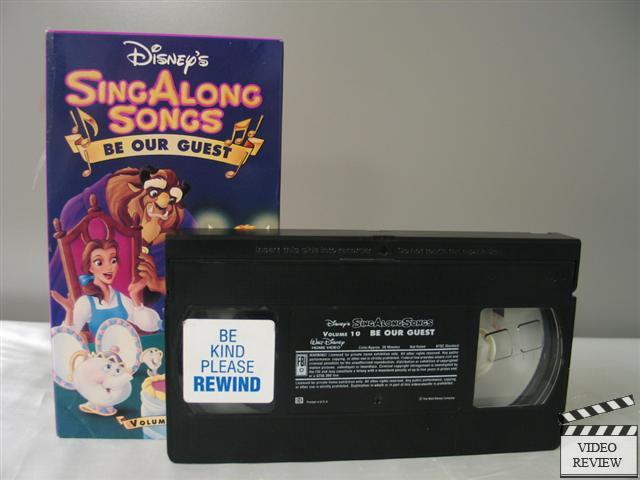 Disney S Sing Along Songs Be Our Guest Vhs 717951311030