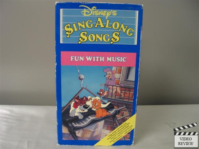 disney 039 s sing along songs fun with music vhs ebay. Black Bedroom Furniture Sets. Home Design Ideas