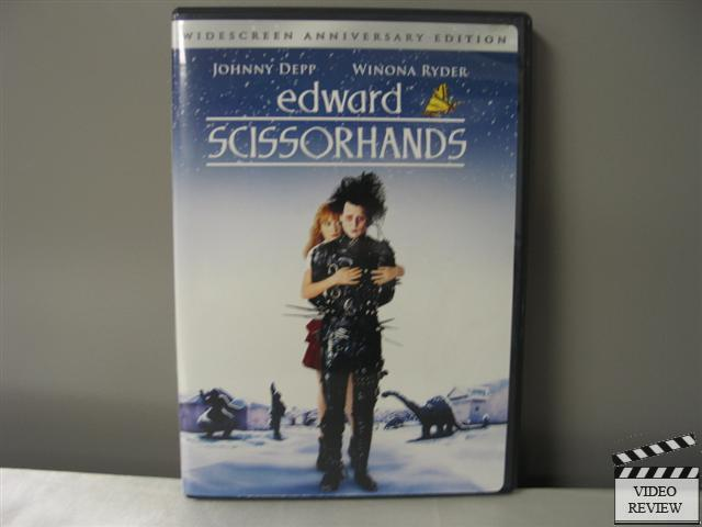 Edward Scissorhands Dvd 2005 10th Anniversary Edition