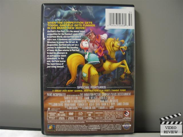 Garfield the movie dvd ebay