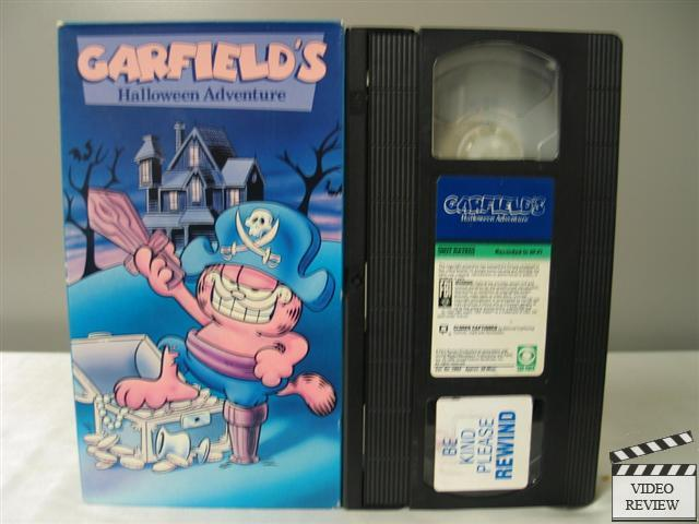 garfield 039 s halloween adventure vhs ebay