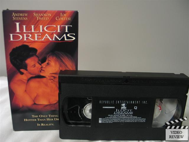 Illicit Dreams Unrated Vhs Andrew Stevens Shanon Tweed