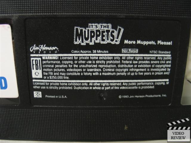 It S The Muppets More Muppets Please Vhs Jim Henson