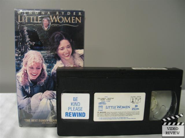 Little Women Vhs Winona Ryder Susan Sarandon Christian
