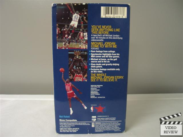 michael jordan come fly with me vhs