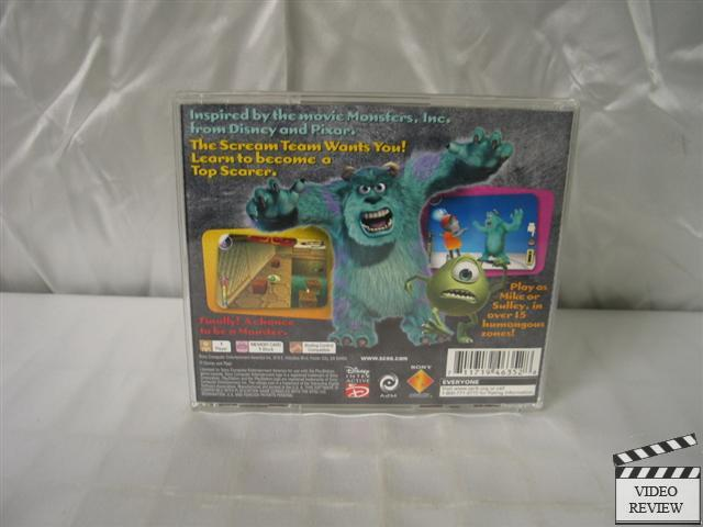 Monsters, Inc. Scream Team (Sony PlayStation 1, 2001