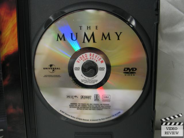 The Mummy Dvd 1999 Widescreen Special Edition