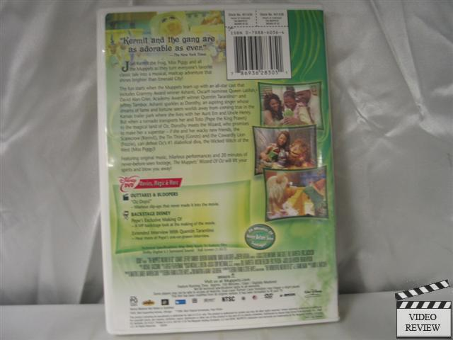 The Muppets Wizard Of Oz Dvd 2005 786936283051 Ebay