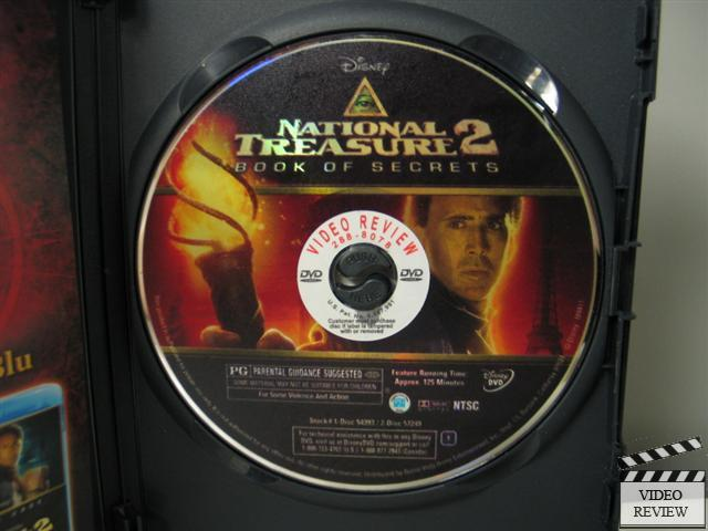 National Treasure 2 : Book of Secrets (DVD, 2008 ...