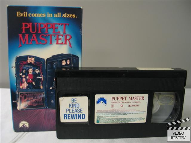 Puppet Master VHS Paul Le Mat, Jimmie F. Scaggs, Irene ...