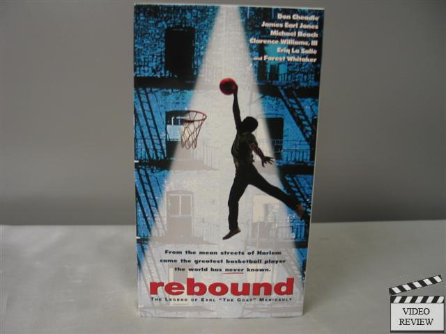 Rebound The Legend Of Earl Quot The Goat Quot Manigault Vhs Don