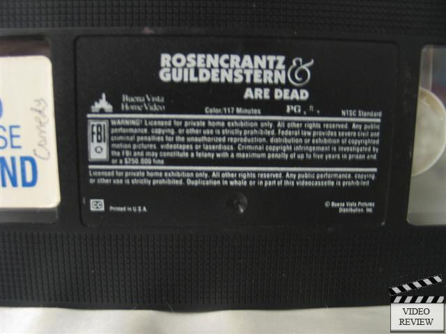 Rosencrantz Amp Guildenstern Are Dead Vhs Tim Roth Richard