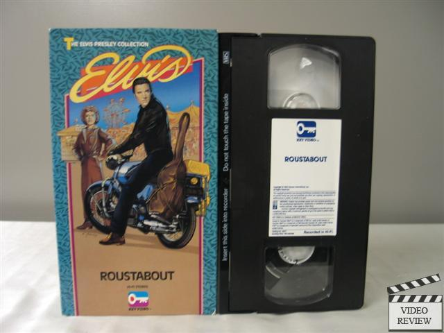Roustabout VHS Elvis Presley, Barbara Stanwyck; Rich ...