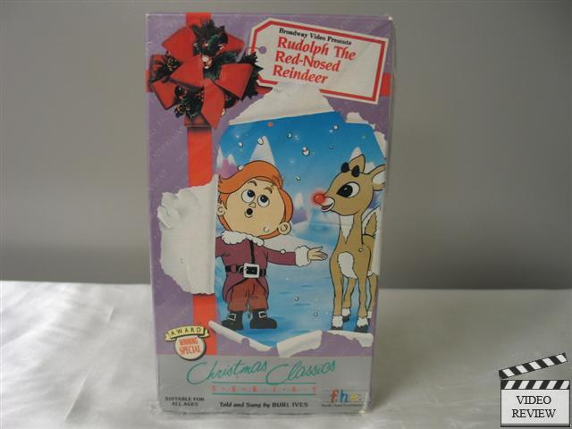 Store Categories Rudolph The Red Nosed Reindeer Vhs 1995