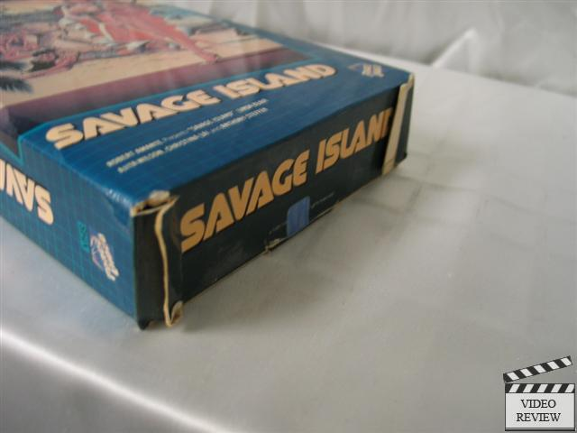 Details about Savage Island VHS Large Case RARE Linda BlairLinda Blair Savage Island