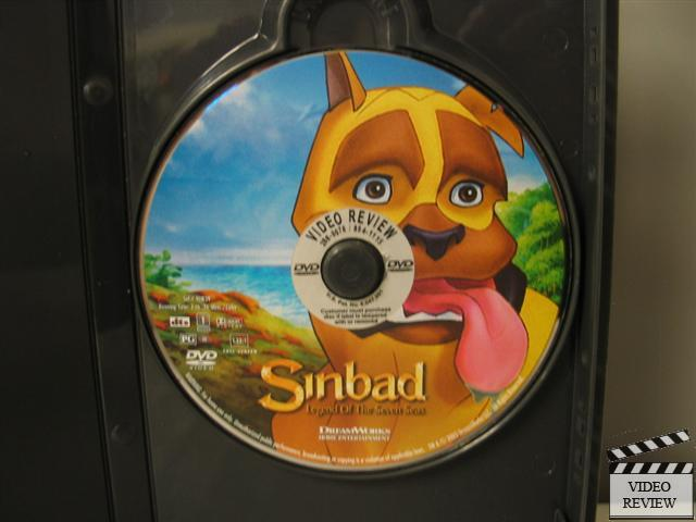 Sinbad: Legend of the Seven Seas (DVD, 2003, Full Frame ...