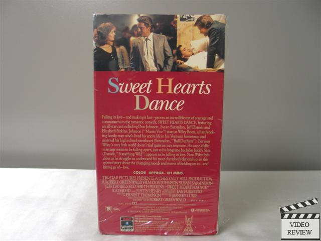 Sweet Hearts Dance VHS Don Johnson, Susan Sarandon | eBay