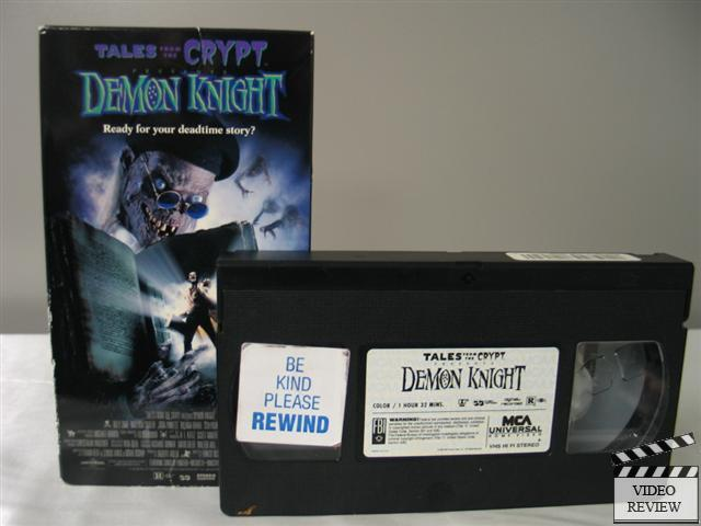 Tales From The Crypt Demon Knight Vhs Billy Zane