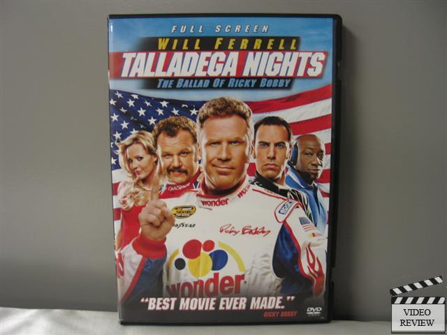 talladega nights the ballad of ricky bobby dvd 2006 full frame 43396158658 ebay. Black Bedroom Furniture Sets. Home Design Ideas