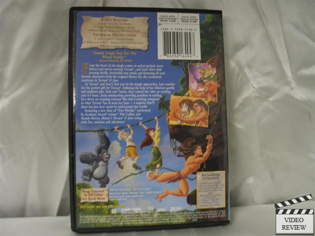Tarzan Amp Jane Dvd 2002 Children S Animated 2002