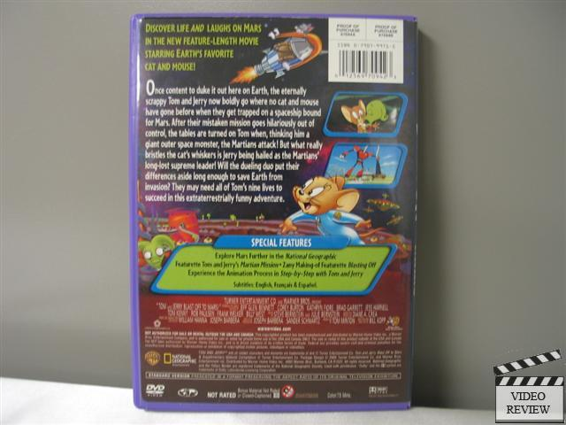 tom and jerry blast off to mars vhs - photo #2