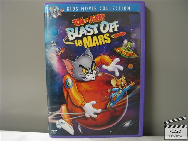 tom and jerry blast off to mars vhs - photo #7