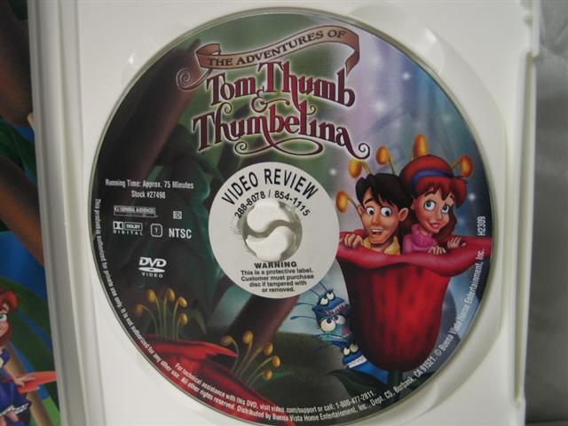 Tom thumb movie rentals
