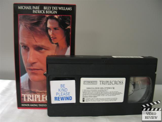 Triplecross Vhs Billy Dee Williams Michael Pare Ashley
