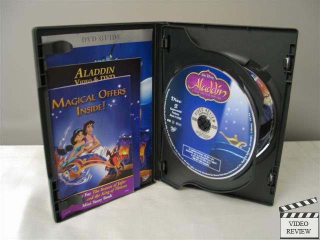 Aladdin Dvd 2004 2 Disc Set Special Edition