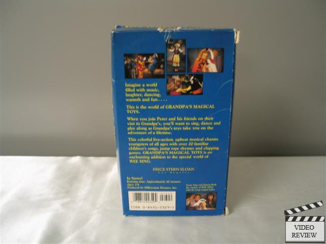 Wee Sing Grandpa S Magical Toys Dvd 86