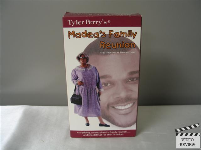 Toys For Family Reuion : Tyler perry s madea family reunion stage play vhs ebay