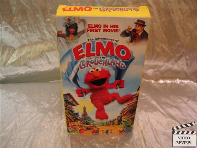 The Adventures Of Elmo In Grouchland Vhs 1999 Sleeve