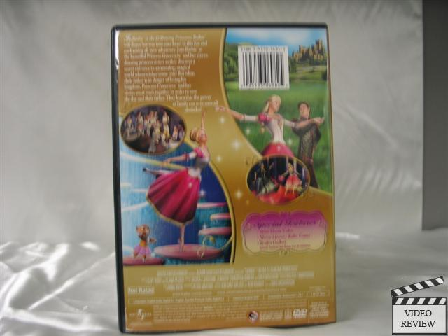 Details about Barbie in the 12 Dancing Princesses (DVD, 2006)
