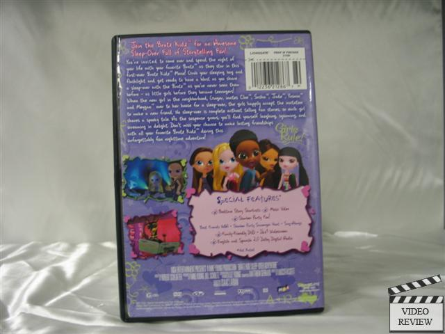 bratz kidz sleepover adventure dvd 2007