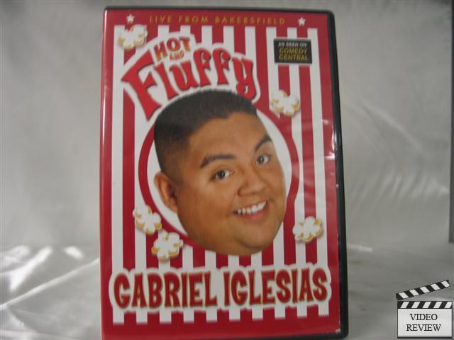 Details about Gabriel Iglesias - Hot And Fluffy (DVD, 2007)