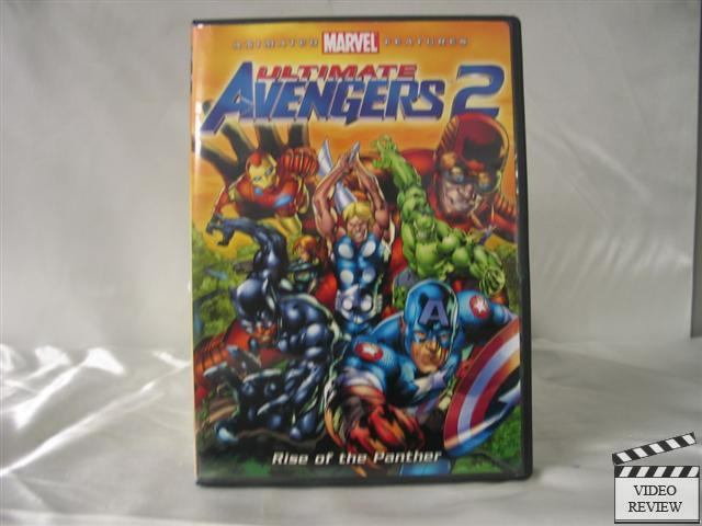 Ultimate Avengers 2: Rise of the Panther (DVD, 2006 ...