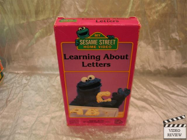 sesame street learning about letters vhs sesame learning about letters vhs 10883